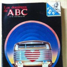 Coleccionismo de Los Domingos de ABC: LOS DOMINGOS DE ABC. NUMERO 716 FECHA: 24 ENERO 1982 . Lote 47287203