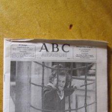Coleccionismo de Los Domingos de ABC: PERIODICO ABC: PRIMER SUPLEMENTO Nº1. EN ARAGON. 1991. Lote 47689612