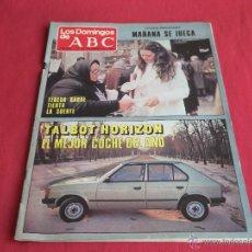 Coleccionismo de Los Domingos de ABC: LOS DOMINGOS DE ABC,21 DE DICIEMBRE DE 1980. Lote 47850222