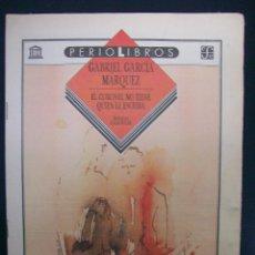 Coleccionismo de Los Domingos de ABC: SUPLEMENTO ABC. PERIOLIBROS. GABRIEL GARCÍA MÁRQUEZ. EL CORONEL NO TIENE QUIEN LE ESCRIBA. Lote 48151830