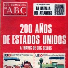 Coleccionismo de Los Domingos de ABC: LOS DOMINGO DE ABC 4 DE ENERO DE 1975. Lote 48584428