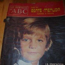 Coleccionismo de Los Domingos de ABC: LOS DOMINGO DE ABC 11 DE ENERO DE 1976. Lote 48584433