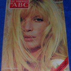 Coleccionismo de Los Domingos de ABC: LOS DOMINGOS DE ABC - MONICA VITTI - TERCERA DIVISIÓN MADRILEÑA - (28 DE ABRIRL DE 1974). Lote 48843817