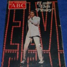Coleccionismo de Los Domingos de ABC: LOS DOMINGOS DE ABC - EL MITO ELVIS PRESLEY - (28 DE AGOSTO DE 1977). Lote 48844202