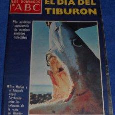 Coleccionismo de Los Domingos de ABC: LOS DOMINGOS DE ABC - EL DÍA DEL TIBURÓN - POSTER INSPECTOR CLOSEAU - (21 DE MARZO DE 1976). Lote 48844381