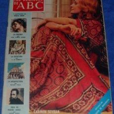 Coleccionismo de Los Domingos de ABC: LOS DOMINGOS DE ABC - CARMEN SEVILLA - (2 DE MARZO DE 1975). Lote 48844453