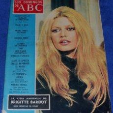 Coleccionismo de Los Domingos de ABC: LOS DOMINGOS DE ABC - LA VIDA AMOROSA DE BRIGITTE BARDOT - (6 DE MAYO DE 1973). Lote 48844513