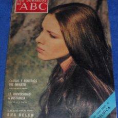 Coleccionismo de Los Domingos de ABC: LOS DOMINGOS DE ABC - ANA BELEN - (26 DE ENERO DE 1975). Lote 48844604
