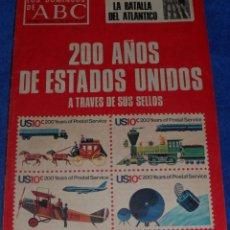 Coleccionismo de Los Domingos de ABC: LOS DOMINGOS DE ABC - 200 AÑOS DE ESTADOS UNIDOS - (4 DE ENERO DE 1976). Lote 48844633