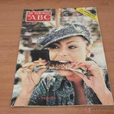 Coleccionismo de Los Domingos de ABC: LOS DOMINGOS DE ABC NADIUSKA AÑO 1973. Lote 49045331