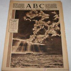 Coleccionismo de Los Domingos de ABC: DIARIO ABC 23 DE JUNIO DE 1944, SEGUNDA GUERRA MUNDIAL ATAQUE A BERLIN, PUENTE RIO TORDERA BARCELONA. Lote 49380220