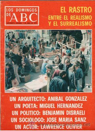 LOS DOMINGOS ABC, 1 DE ABRIL DE 1979 (Coleccionismo - Revistas y Periódicos Modernos (a partir de 1.940) - Los Domingos de ABC)