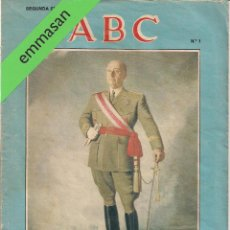 Coleccionismo de Los Domingos de ABC: 49 FÁSCICULOS - ''VIDA DE FRANCO''. - COORDINACIÓN DE RICARDO DE LA CIERVA - ABC.. Lote 49774015