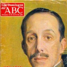 Coleccionismo de Los Domingos de ABC: LOS DOMINGOS DE ABC: CIEN AÑOS DE ALFONSO XIII / LA VIDA DE FRANCO. Lote 49974086