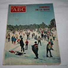 Coleccionismo de Los Domingos de ABC: LOS DOMINGOS DE ABC 8 FEBRERO 1970, CARTAS INEDITAS DE RAMON PEREZ DE AYALA A SEBASTIAN MIRANDA. Lote 51038896