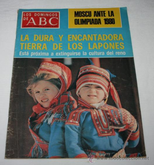 LOS DOMINGOS DE ABC 21 AGOSTO 1977, OLIMPIADA MOSCU, CRUCES CAMARA SANTA OVIEDO, FRANCISCO DELGADO (Coleccionismo - Revistas y Periódicos Modernos (a partir de 1.940) - Los Domingos de ABC)