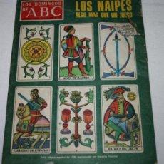 Coleccionismo de Los Domingos de ABC: REVISTA LOS DOMINGOS DE ABC 31 DICIEMBRE 1978, LOS NAIPES, ALPINISMO, CAMILO JOSE CELA. Lote 51771642