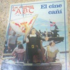Coleccionismo de Los Domingos de ABC: LOS DOMINGOS DE ABC.EL CINE CAÑI.. Lote 52017878