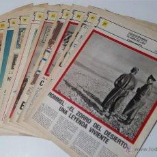 Coleccionismo de Los Domingos de ABC: COLECCIONABLE 70 AÑOS DE ABC 1975 (12 FASCICULOS) + DISCO DOCUMENTO SONORO II GUERRA MUNDIAL. Lote 52025970