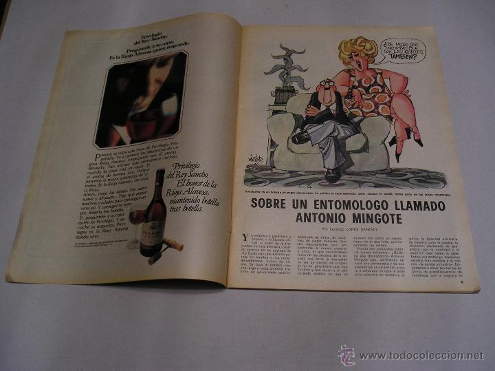 Coleccionismo de Los Domingos de ABC: los domingos de abc 1978 Antonio Mingote 25 años en abc amplio reportaje 18 paginas ver fotos - Foto 3 - 52472575
