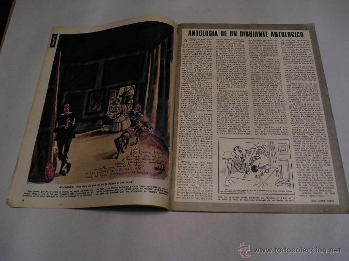 Coleccionismo de Los Domingos de ABC: los domingos de abc 1978 Antonio Mingote 25 años en abc amplio reportaje 18 paginas ver fotos - Foto 5 - 52472575