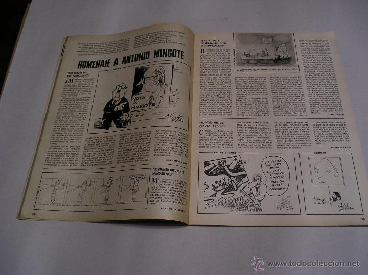 Coleccionismo de Los Domingos de ABC: los domingos de abc 1978 Antonio Mingote 25 años en abc amplio reportaje 18 paginas ver fotos - Foto 7 - 52472575
