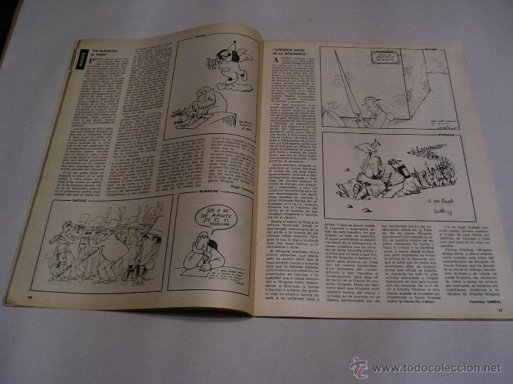 Coleccionismo de Los Domingos de ABC: los domingos de abc 1978 Antonio Mingote 25 años en abc amplio reportaje 18 paginas ver fotos - Foto 8 - 52472575