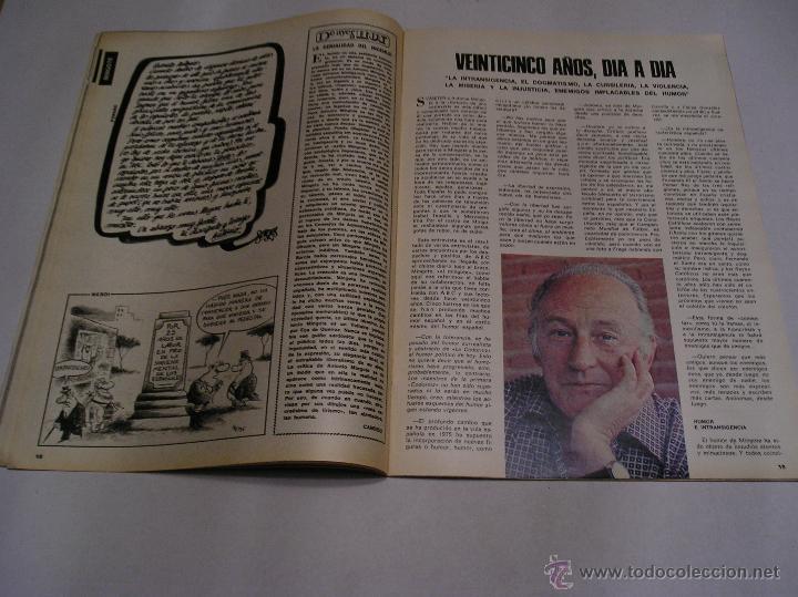 Coleccionismo de Los Domingos de ABC: los domingos de abc 1978 Antonio Mingote 25 años en abc amplio reportaje 18 paginas ver fotos - Foto 9 - 52472575
