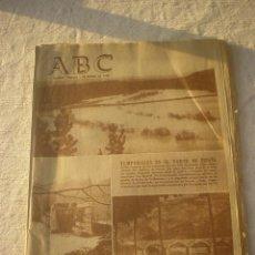 Coleccionismo de Los Domingos de ABC: PERIODICO ABC 1 ENERO 1960 - ANUNCIO FAMOSA Y GEYPER. Lote 53139885