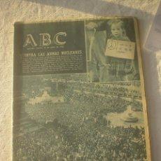 Coleccionismo de Los Domingos de ABC: PERIODICO ABC 21 ABRIL 1960 . Lote 53140354