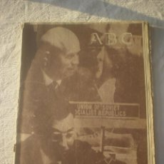 Coleccionismo de Los Domingos de ABC: PERIODICO ABC 17 OCTUBRE 1960 - KRUSCHEF. Lote 53141181