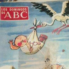 Coleccionismo de Los Domingos de ABC: ABC SUPLEMENTO SEMANAL 29 DICIEMBRE DE 1968- PORTADA MINGOTE. Lote 53284528