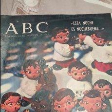 Coleccionismo de Los Domingos de ABC: ABC. 24 DE DICIEMBRE DE 1967, NOCHEBUENA- LAS HURDES- UN DIA EN BELEN. Lote 53291561