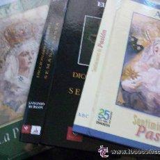 Coleccionismo de Los Domingos de ABC: SEMANA SANTA DE SEVILLA : 5 TAPAS PARA ENCUADERNAR COLECCIONABLES DE SEMANA SANTA. ABC, ETC .. Lote 53343183