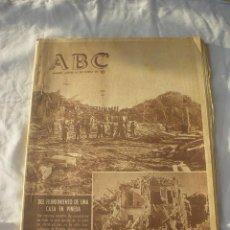 Coleccionismo de Los Domingos de ABC: PERIODICO ABC 25 ENERO 1962 - CARTELERA *LO QUE EL VIENTO SE LLEVO*. Lote 53374027