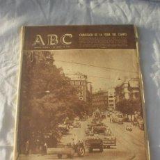 Colecionismo de Los Domingos de ABC: PERIODICO ABC 1 JUNIO 1962 - ANUNCIO SCHWEPPES DE ANTONIO MINGOTE. Lote 53374352