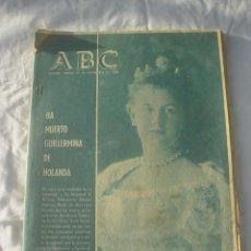Coleccionismo de Los Domingos de ABC: PERIODICO ABC 29 NOVIEMBRE 1962 . Lote 53374796