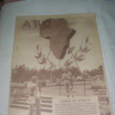 Coleccionismo de Los Domingos de ABC: PERIODICO ABC 29 MAYO 1963 . Lote 53404763
