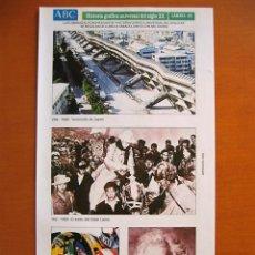 Coleccionismo de Los Domingos de ABC: LÁMINA 45. HISTORIA GRAFICA UNIVERSAL DEL SIGLO XX. ABC. ARGENTARIA.. Lote 53465809