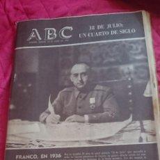 Coleccionismo de Los Domingos de ABC: ABC 25 ANIVERSARIO DEL 18 DE JULIO- 1961. Lote 53508546