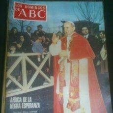 Coleccionismo de Los Domingos de ABC: LOS DOMINGOS DE ABC. DE 1969. Lote 53537465