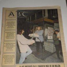 Coleccionismo de Los Domingos de ABC: PERIODICO ABC , JUEVES 16 DE MARZO 1995. Lote 53716832