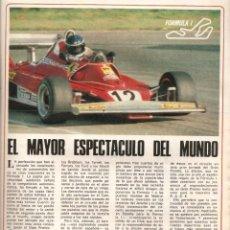 Coleccionismo de Los Domingos de ABC: AÑO 1978 AUTOMOVILISMO FORMULA 1 EL JARAMA NIKI LAUDA CORDOBA CONCURSO PATIOS MODA PIERRE CARDIN. Lote 54887342