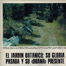 Coleccionismo de Los Domingos de ABC: AÑO 1978 MADRID JARDIN BOTANICO ANTROPOLOGIA JUAN GARCIA FUENTES MALAGA MARCHANTE. Lote 54946787