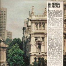 Coleccionismo de Los Domingos de ABC: AÑO 1983 URBANISMO DOCE HORRORES URBANISTICOS DE MADRID ALCALA CIUDAD LINEAL BUEN SUCESO PLAZA COLON. Lote 54998049