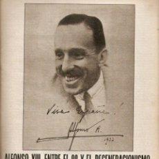 Coleccionismo de Los Domingos de ABC: AÑO 1980 HISTORIA DE ESPAÑA EL REY ALFONSO XIII UNIFORMES RUBEN DARIO. Lote 55054011