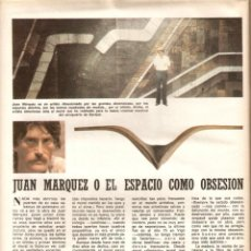 Coleccionismo de Los Domingos de ABC: AÑO 1981 ANTOÑITA MORENO FOTOGRAFIA INDALECIO GUTIERREZ LOPEZ PINTURA JUAN MARQUEZ ANGEL CARCHENILLA. Lote 55109974