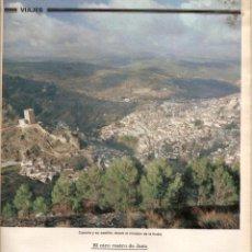 Coleccionismo de Los Domingos de ABC: AÑO 1982 TREN RED FERROVIARIA ESPAÑOLA PASO DESPEÑAPERROS PAJARES LA SIERRA DE CAZORLA JAEN. Lote 55308769
