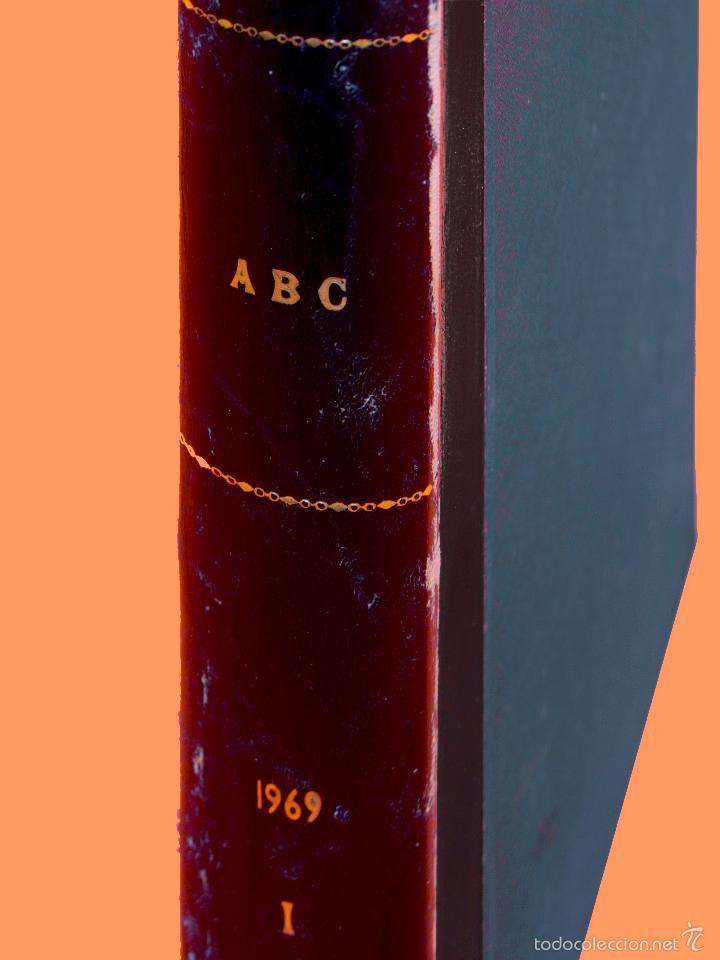Coleccionismo de Los Domingos de ABC: SUPLEMENTOS LOS DOMINGOS DE ABC, AÑO 1969 COMPLETO Y ENCUADERNADO en tres TOMOS - Foto 3 - 55319251
