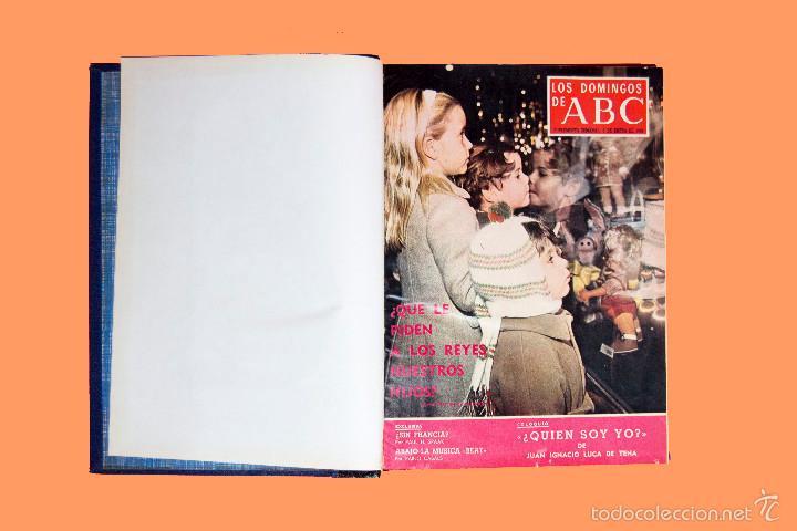 Coleccionismo de Los Domingos de ABC: SUPLEMENTOS LOS DOMINGOS DE ABC, AÑO 1969 COMPLETO Y ENCUADERNADO en tres TOMOS - Foto 5 - 55319251